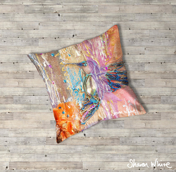Sharon White Art Renewal Floor Cushions Full Renewal