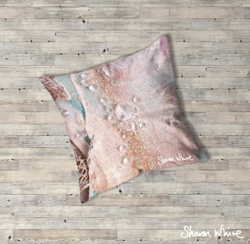 Sharon White Art Trust Floor Cushions Angelic Charm