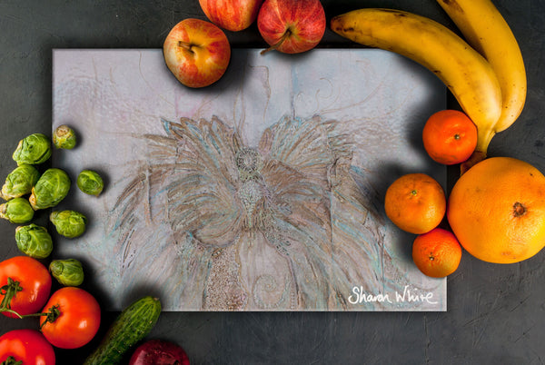 Sharon White Art Chopping Board Trust Full Trust