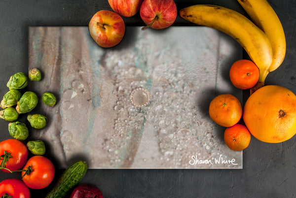Sharon White Art Chopping Board Trust Solo