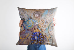 Sharon White Art Ascension Jewels Cushion