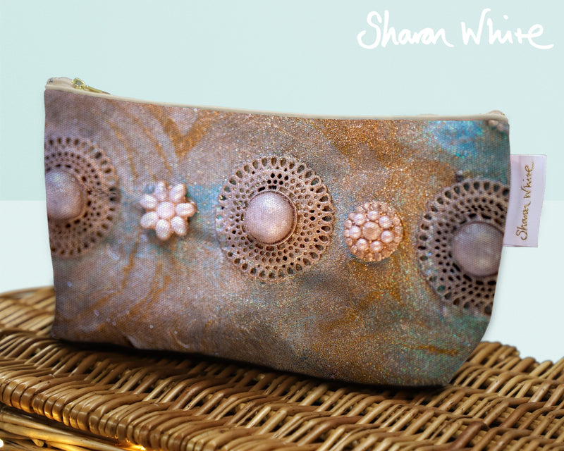 Sharon White Art Wash Bags Ascension Chakra