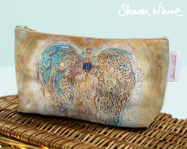 Sharon White Art Wash Bags Ascension Full Ascension