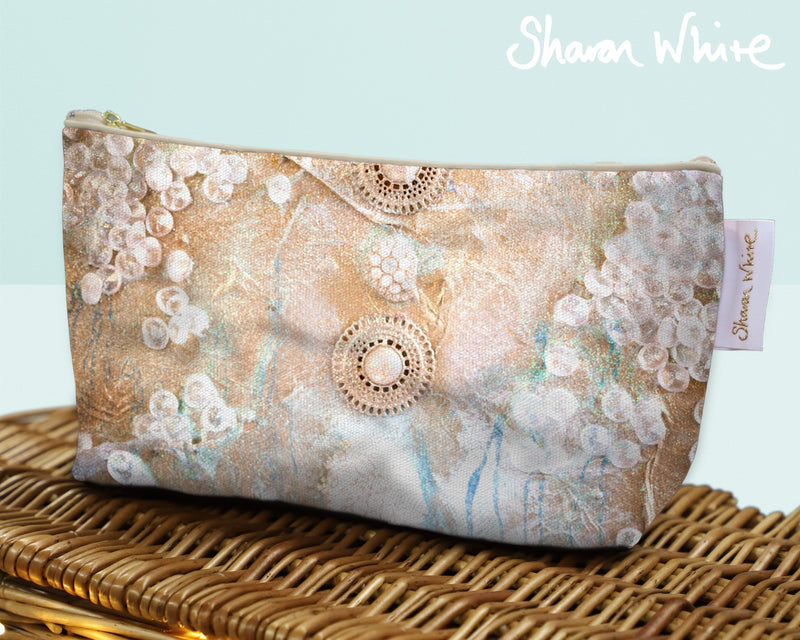 Sharon White Art Wash Bags Ascension Quiet make up bag medium