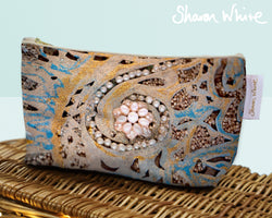 Sharon White Art Wash Bags Ascension Swirl cosmetic large