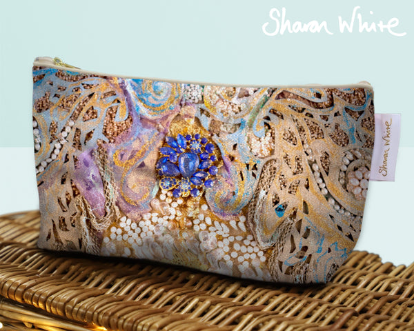 Sharon White Art Wash Bags Ascension Timeless