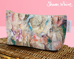 Sharon White Art Wash Bags Lightness Secret Bloom