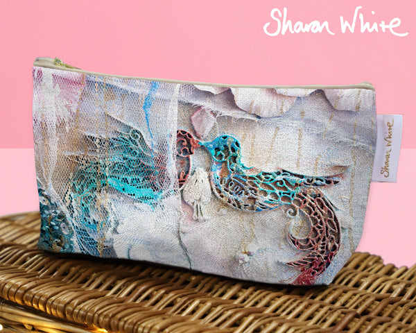 Sharon White Art Wash Bags Lightness The Kiss
