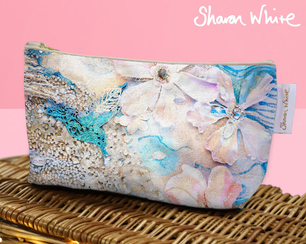 Sharon White Art Wash Bags Lightness Tranquil cosmetic large