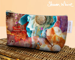 Sharon White Art Wash Bags Renewal Amber Nectar toiletry bag medium
