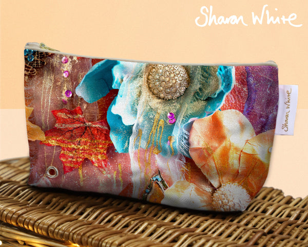Sharon White Art Wash Bags Renewal Amber Nectar