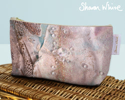 Sharon White Art Wash Bags Trust Angelic Charm small make up bag