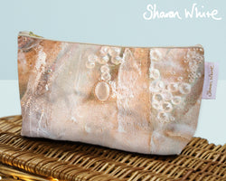 Sharon White Art Wash Bags Trust Crystal large toiletry bag