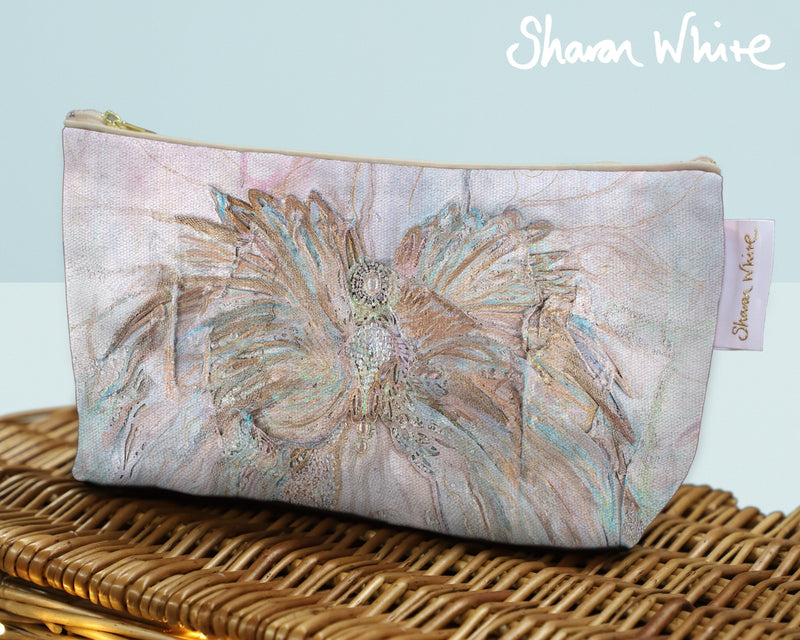 Sharon White Art Wash Bags Trust Full Trust medium make up bag