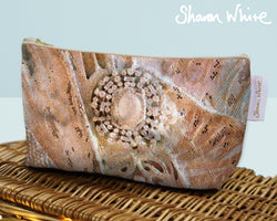 Sharon White Art Wash Bags Trust Heavenly medium make up bag
