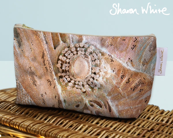 Sharon White Art Wash Bags Trust Heavenly