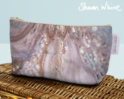 Sharon White Art Wash Bags Trust Together small cosmetic bag