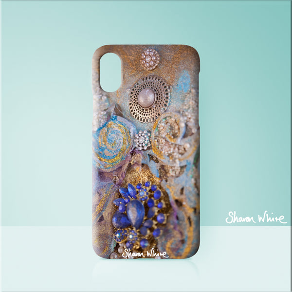 Sharon White Art Phone Case Ascension Jewels