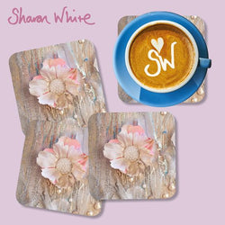 Sharon White Lightness of Being Coasters Protected