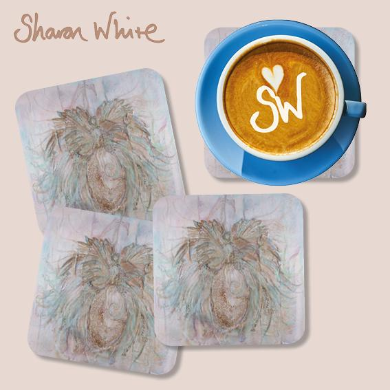 Sharon White Trust Coasters Full Trust