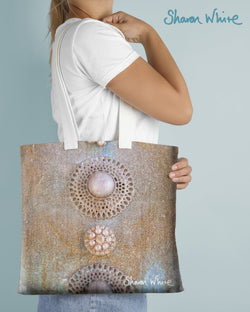 Sharon White Art Tote Bag Collection Ascension Chakra