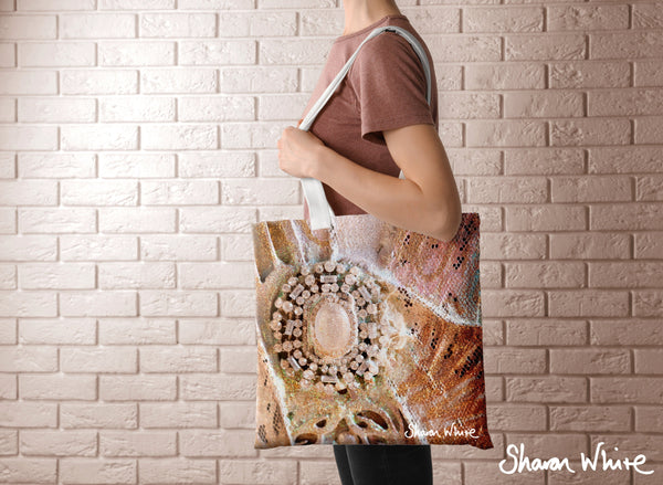 Sharon White Art Tote Bag Collection Trust Heavenly