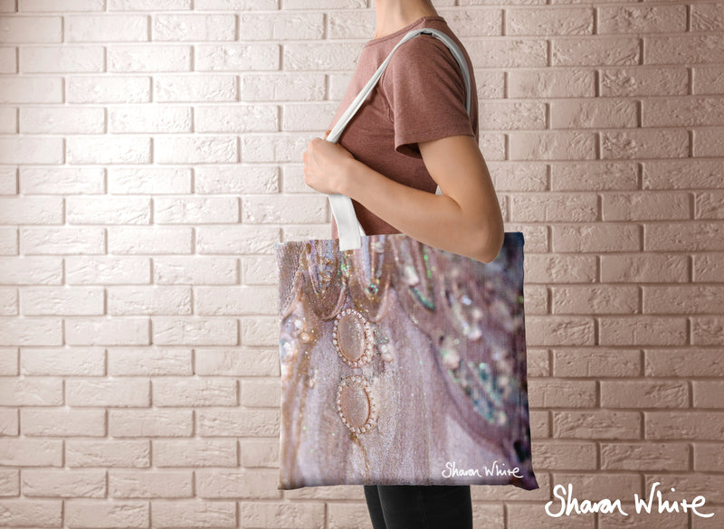 Sharon White Art Tote Bag Collection Trust Together