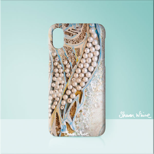 iPhone 5/5S/5SE, 6/6S/6Plus, 7/7Plus, 8/8Plus and X. And Samsung Galaxy S6, S6 Edge, S7, S7 Edge, S8 Sharon White Art Wash Bags Trust Together