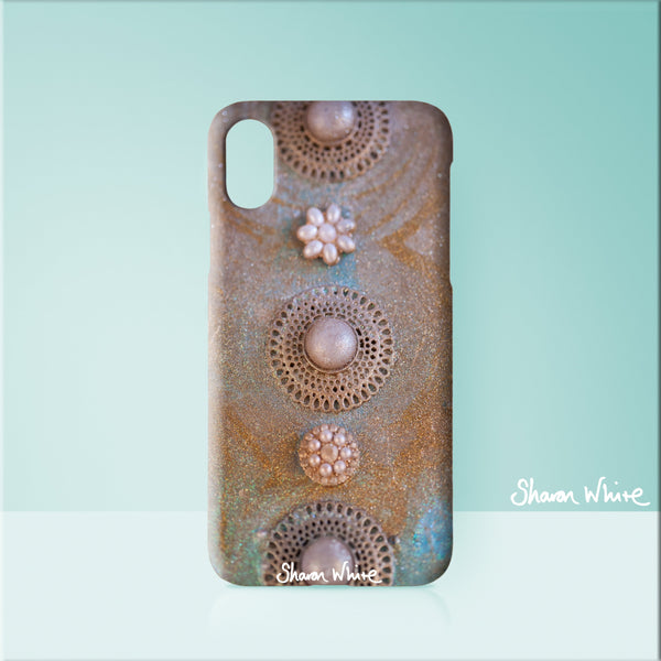 Sharon White Art Phone Case Ascension Chakra