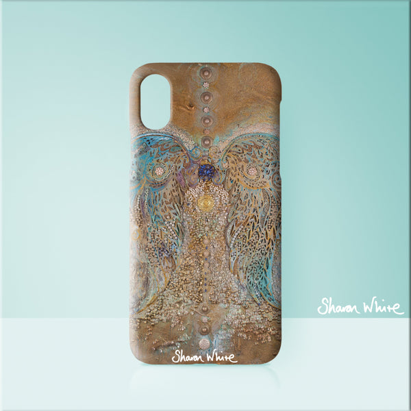 Sharon White Art Phone Case Ascension Full Ascension