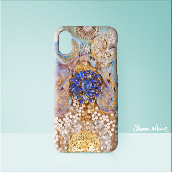 Sharon White Art Phone Case Ascension Timeless