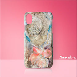 Sharon White Art Phone Case Lightness of Being Secret Bloom
