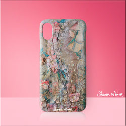 Sharon White Art Phone Case Lightness of Being Full Lightness