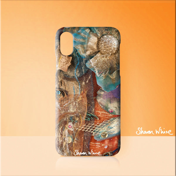 Sharon White Art Phone Case Renewal Bloom
