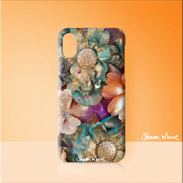 Sharon White Art Phone Case Renewal Cluster