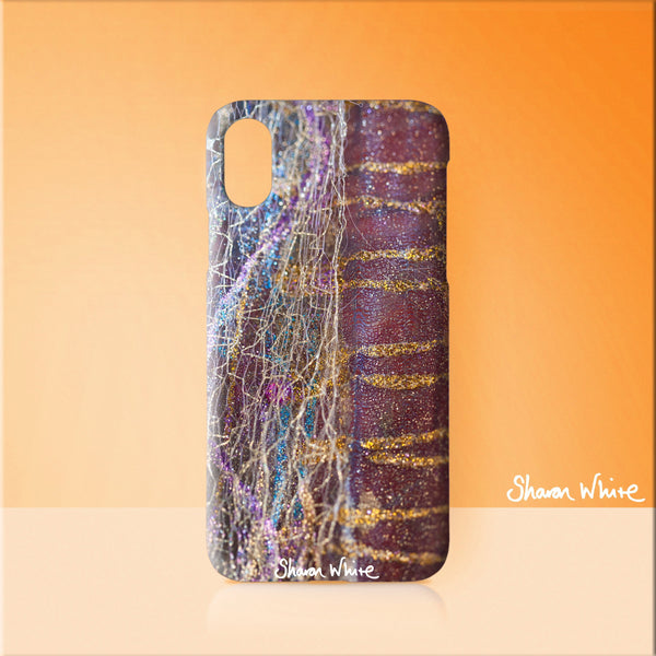 Sharon White Art Phone Case Renewal Stripey