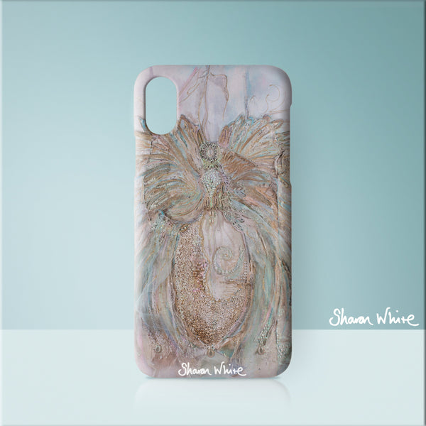 Sharon White Art Phone Case Trust Full Trust
