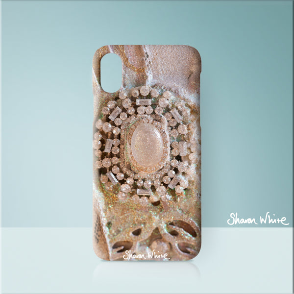 Sharon White Art Phone Case Trust Heavenly