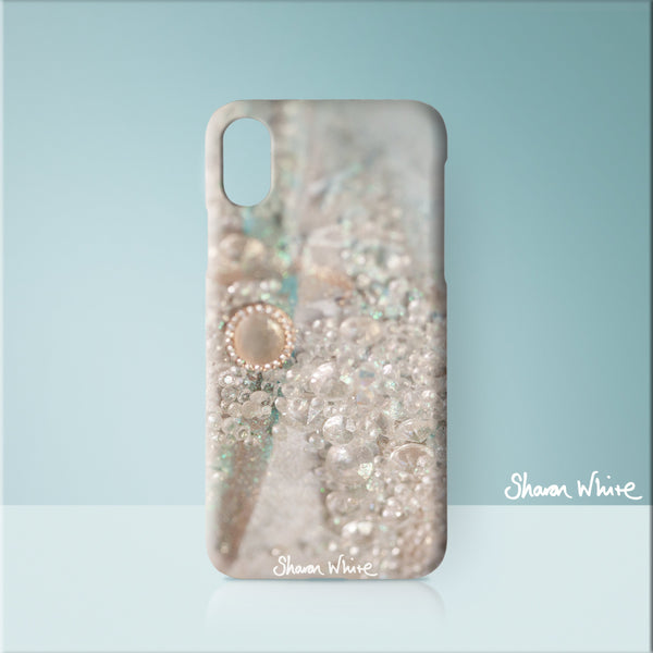 Sharon White Art Phone Case Trust Solo
