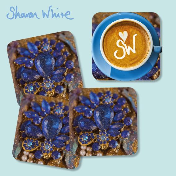 Sharon White Ascension Coasters Ocean Jewel