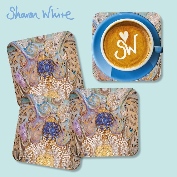 Sharon White Ascension Coasters Timeless