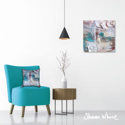 Sharon White Wall Art Canvas Lightness of Being Collection The Kiss