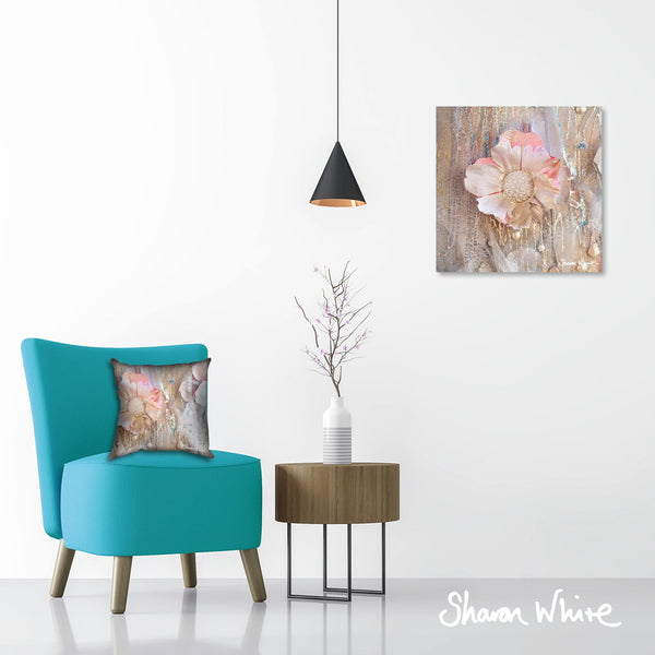 Sharon White Wall Art Canvas Lightness of Being Collection Protected