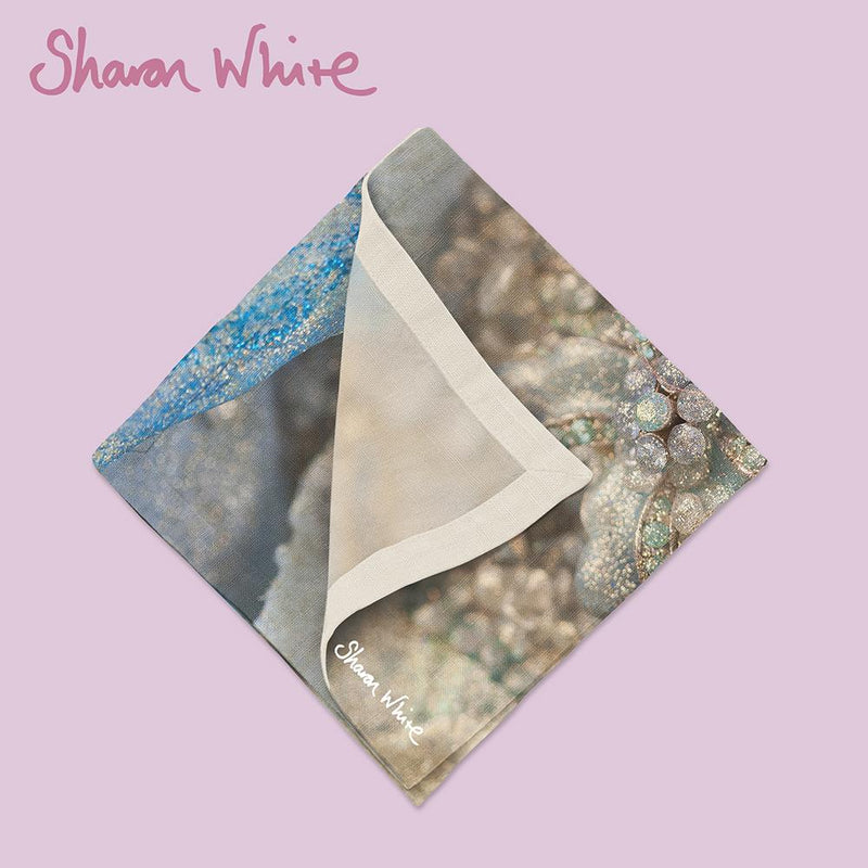 Sharon White Art Lightness of Being Napkin Range Diamond Cluster