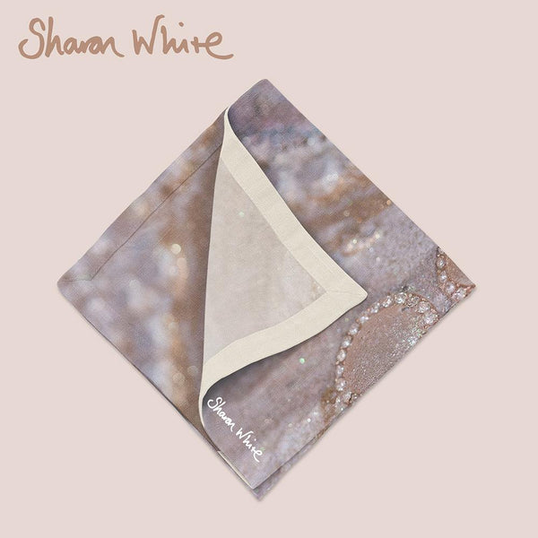 Sharon White Art Trust Napkin Range Together