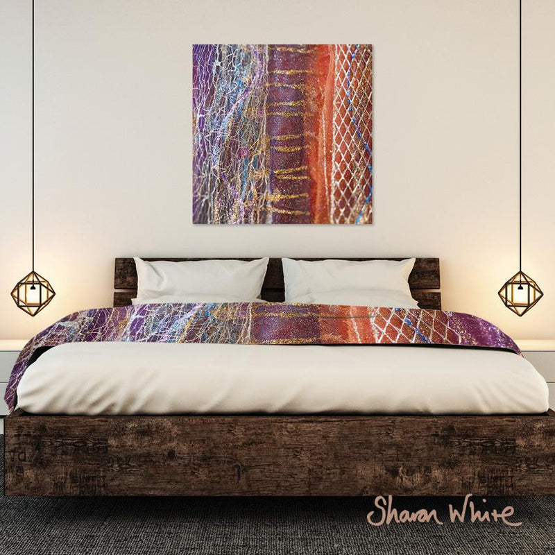 Bed Runner Collection Renewal Stripy wall art