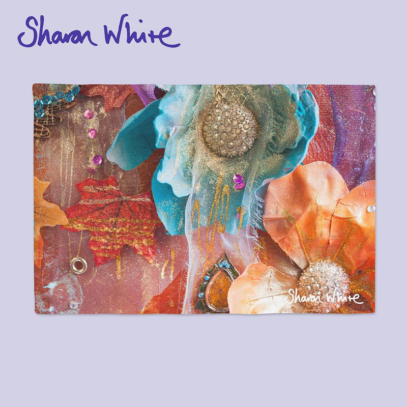 Sharon White Art Chopping Board Renewal Amber Nectar