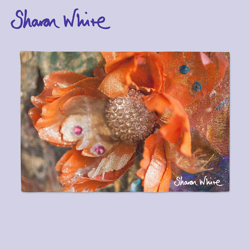 Sharon White Art Renewal Napkin Range Orange