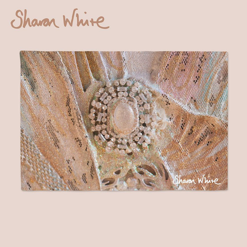 Sharon White Art Trust Napkin Range Heavenly
