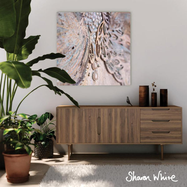 Sharon White Wall Art Canvas Trust Collection Believe